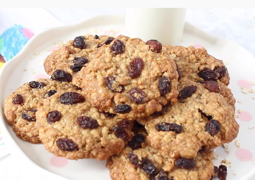 galletas de avena con pasas
