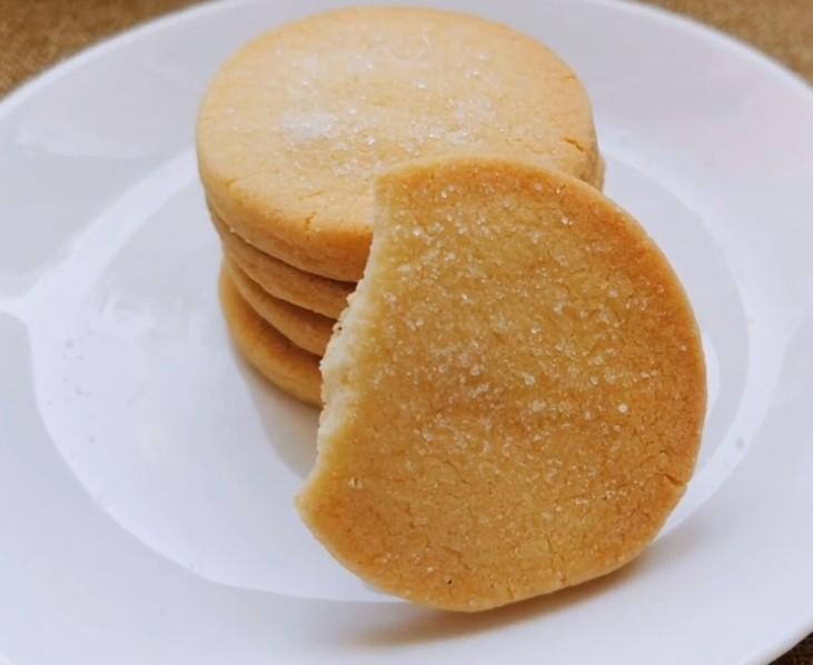 Galletas de Mantequilla Fáciles con solo 3 ingredientes