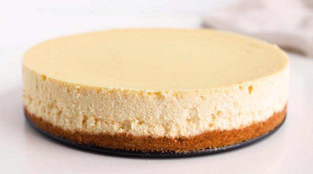 tarta de queso con galletas